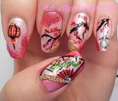 amazing chinese new year nail art designs u0026 ideas 2014 fabulous