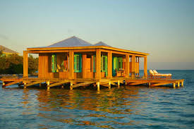 House Over Water Cayo Espanto Belize Casa Ventanas Over Water Bungalow