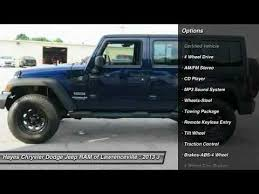chrysler dodge jeep ram lawrenceville 2013 jeep wrangler unlimited lawrenceville ga k0187