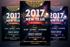 stockpsd net u2013 free psd flyers brochures and more 2017 new year