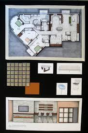 Hand Rendered Floor Plan Jessica Miller