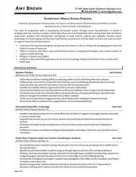 resume administrator 100 images principal resume