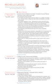 exles of teachers resumes science resume template sles visualcv database exle