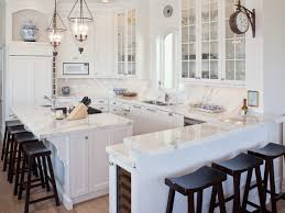 Gray Cabinets With White Countertops Dream Spaces 12 Beautiful White Kitchens