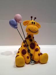 topo de bolo girafa ideias para bolos primeiro aniversário
