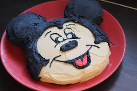 how to make cake how to make a mickey mouse cake without a special pan
