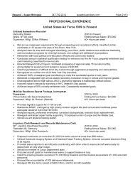 Objectives In Resume For Any Position Resume Examples Templates Federal Resume Example Format And