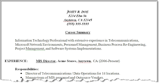 summary for resume 28 images summary section of resume best