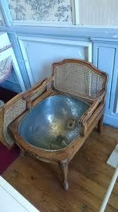 bain de siege fauteuil de bain de siège d époque régence photo de chateau de