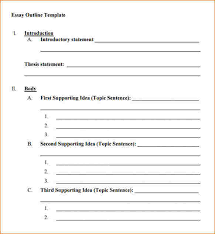 doc 585660 blank outline template u2013 blank outline template 7