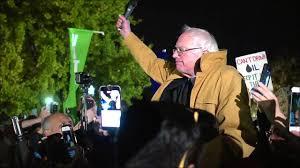 bernie sanders u0027 surprise speech outside the white house on