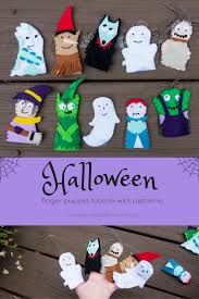 mummy crafts for halloween cutest halloween finger puppets craft free patterns and tutorial