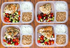 food prep meals healthy greek chicken meal prep bowls ally s cooking
