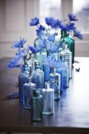 impressive blue wedding centerpieces elegant shades of centerpiece