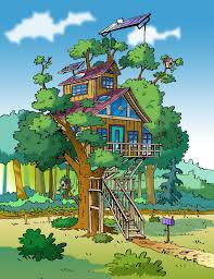 tree house drawings home interior floor plans animated drawing