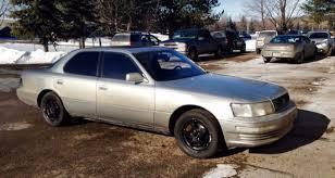 1996 lexus ls400 tires rides
