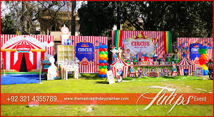 carnival themed party carnival circus themed birthday party planner in pakistan