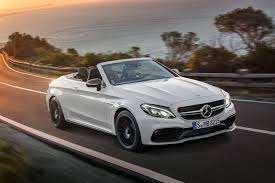 convertible mercedes black mercedes amg c63 cabriolet revealed at new york 2016 by car magazine