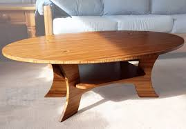 the samurai coffee table bamboo furniture grassracks bamboo the samurai series bamboo oval coffee table