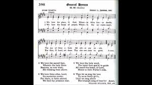 A Place Hymn We The Place O God Quam Dilecta
