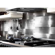 metal backsplash kitchen aluminum backsplash kitchen 28 images aspect subway matted 12