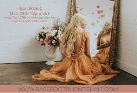 Red Blonde Hair Extensions by Announcing Barefoot Blonde Hair Our Hair Extension Line