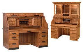 Pine Secretary Desk by Furniture Classic Rolltop Computer Desk For Antique Study Desk