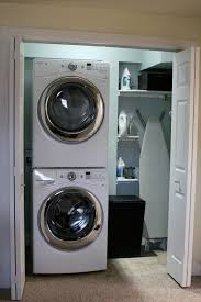 articles with small laundry room ideas with stacked washer and