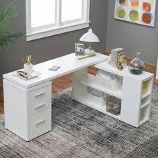 Large White Desk With Drawers Best 25 White Desk Office Ideas On Pinterest White Desks White