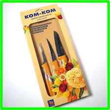 kom kom fruit carving knife set thai vegetable fruit carving