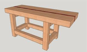 Woodworking Bench Top Thickness by How To Make A Split Top Roubo Woodworking Bench For Under 200