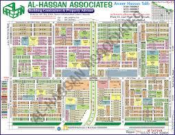 Islamabad Map Al Hassan Associates