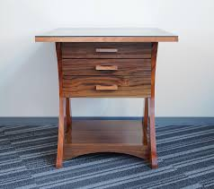 nightstand with floating drawers el camino college woodworking