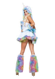 womens unicorn fantasy costume