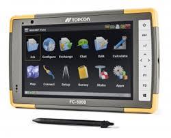 topcon fc 5000 field controller 1010084 01 tiger supplies