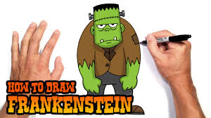 how to draw frankenstein drawing lesson youtube