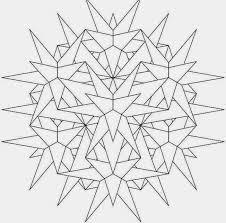 9 3d dimension advance mandala coloring pages print picture