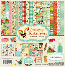 kitchen collection carta bella paper country kitchen 12x12 collection kit