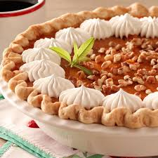 maple pumpkin pie recipe taste of home