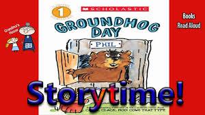 storytime groundhog aloud story bedtime story