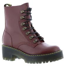 womens boots uk ebay dr martens leona vintage smooth s boot uk 4 us 6 oxblood
