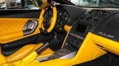 lamborghini aventador automatic transmission lamborghini gallardo yellow and black interior auto addiction