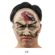 cool halloween half mask eco latex half mask for adults the best