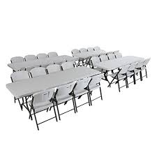 lifetime 6 commercial grade stacking folding table select color amazon com lifetime combo 4 8 banquet table and 32 commercial