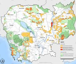 Map Of Cambodia Unprotected Areas The Cambodia Daily