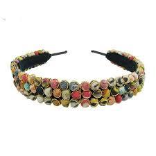 beaded headband kantha beaded headband amani world collections