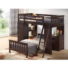 broyhill kids marco island twin loft u0026amp full bed collection