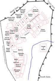 Baths Of Caracalla Floor Plan Volubilis Wikipedia