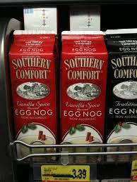 Southern Comfort Eggnog Vanilla Spice Egg Nog