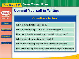 read to learn how to develop a career plan and set intermediate